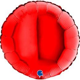 """Μπαλόνι κόκκινο στρογγυλό 18"""""""