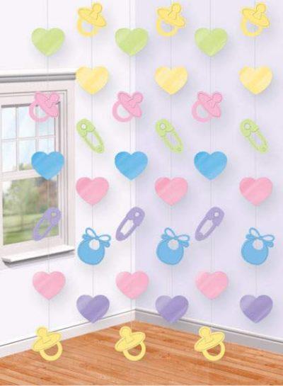 Διακοσμητική κουρτίνα Baby Shower