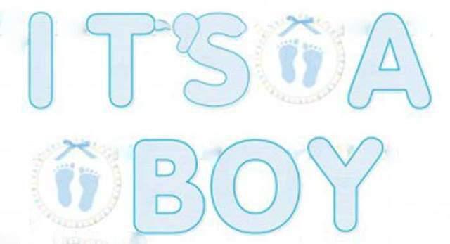 Διακοσμητικό μπάνερ It's a Boy 1,6μ