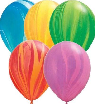 """12"""" Μπαλόνι τυπωμένο Ουράνιο τόξο"""