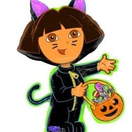 Μπαλόνι Ντόρα Εξερευνήτρια Halloween 60 εκ