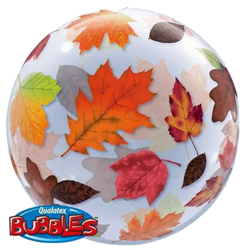Μπαλόνι Φθινοπωρινά φύλλα bubble
