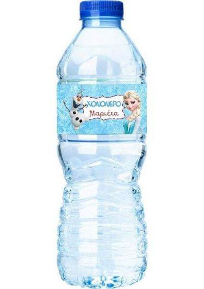 Χάρτινες ετικέτες νερού Frozen (8 τεμ)