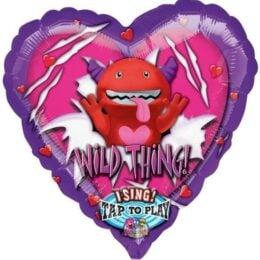 Μπαλόνι Καρδιά 'Wild Thing' που τραγουδάει 74 εκ