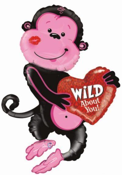 Μπαλόνι Μαϊμού 'Wild about you' 117 εκ