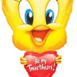 Μπαλόνι αγάπης Tweety με καρδιά 78 εκ