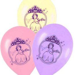 12″ Μπαλόνι τυπωμένο Πριγκίπισσα Σοφία