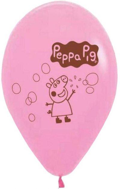 """12"""" Μπαλόνι τυπωμένο Πέππα γουρουνάκι"""