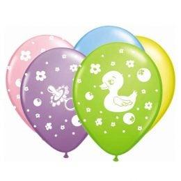 """12"""" Μπαλόνι Παπάκι & Κουδουνίστρα"""