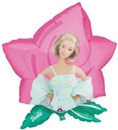 Μπαλόνι Barbie λουλούδι