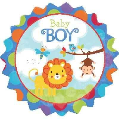 Μπαλόνι γέννησης Baby Boy Σαφάρι 45 εκ