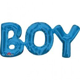 Μπαλόνι φράση μπλε BOY 50 εκ