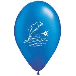 """12"""" Μπαλόνι τυπωμένο Δελφίνι"""