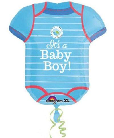 Μπαλόνι γέννησης Φορμάκι μωρού για αγοράκι 60 εκ