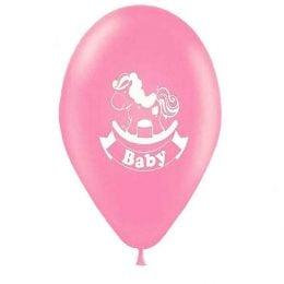 """12"""" Μπαλόνι κουνιστό αλογάκι ροζ"""