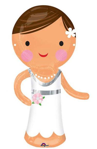Μπαλόνι γάμου Νύφη 101 εκ