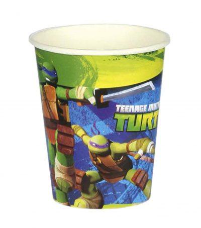 Ποτήρια πάρτυ Ninja Turtles (8 τεμ)