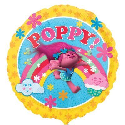 Μπαλόνι Trolls Poppy στρογγυλό