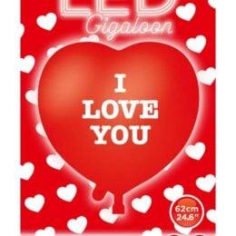 24″ Μπαλόνι καρδιά LED που αναβοσβήνει