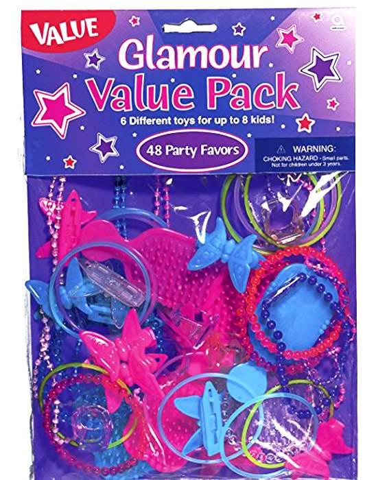 Σετ δώρου για 8 κοριτσάκια μαζί με σακουλίτσες Glamour girl (40 τεμ)