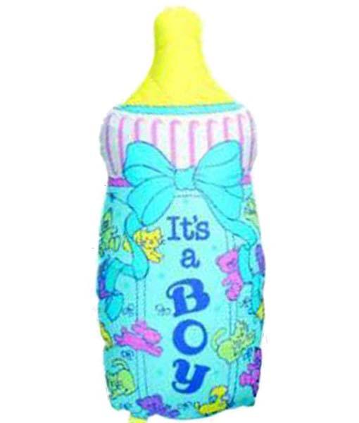 """Μπαλόνι γέννησης μπιμπερό """"Its a boy"""" 78 εκ"""