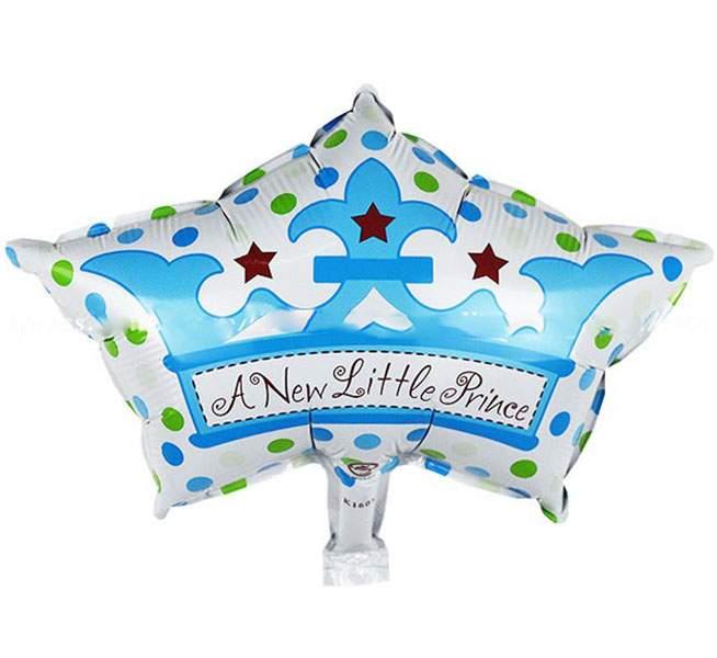 Μπαλόνι γέννησης Στέμα 'New little Prince' 65 εκ