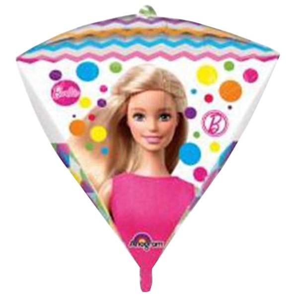 Μπαλόνι Barbie τρισδιάστατο Διαμάντι