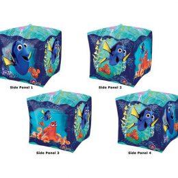 Μπαλόνι Ντόρυ 3D Κύβος 38 εκ