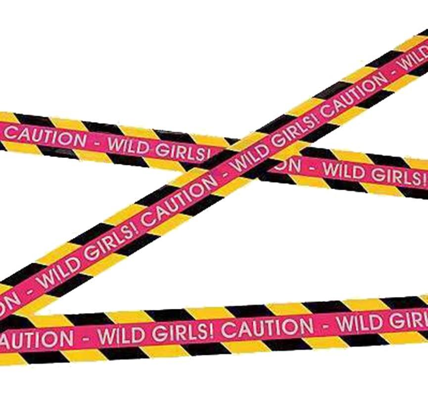 Διακοσμητική κορδέλα Caution Wild Girl