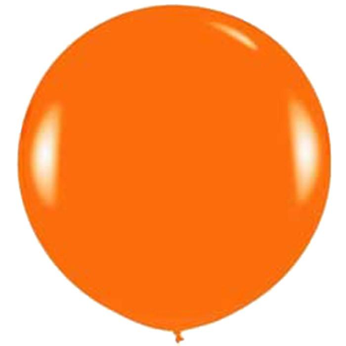 90cm - 36'' Πορτοκαλί μεγάλο μπαλόνι