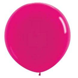 "90 cm – 36"" Φούξια μεγάλο μπαλόνι"