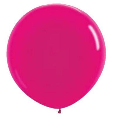 90cm - 36'' Φούξια μεγάλο μπαλόνι