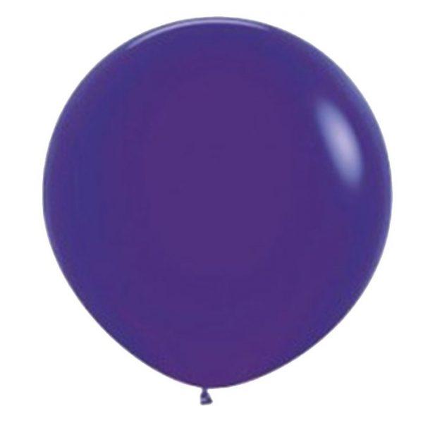 90cm - 36'' Βιολετί μεγάλο μπαλόνι