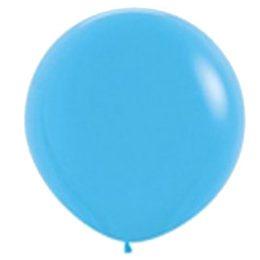 "90cm – 36"" Γαλάζιο μεγάλο μπαλόνι"