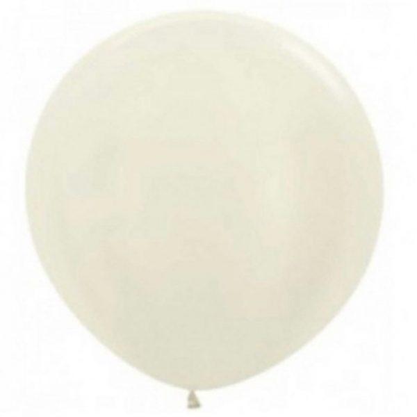 90cm - 36'' ιβουάρ περλέ μεγάλο μπαλόνι