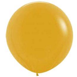 "90cm – 36"" Χρυσαφί μεγάλο μπαλόνι"