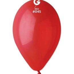 12″ Κόκκινο λάτεξ μπαλόνι