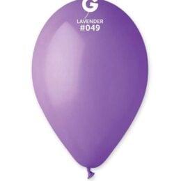 12″ Λεβάντα λάτεξ μπαλόνι