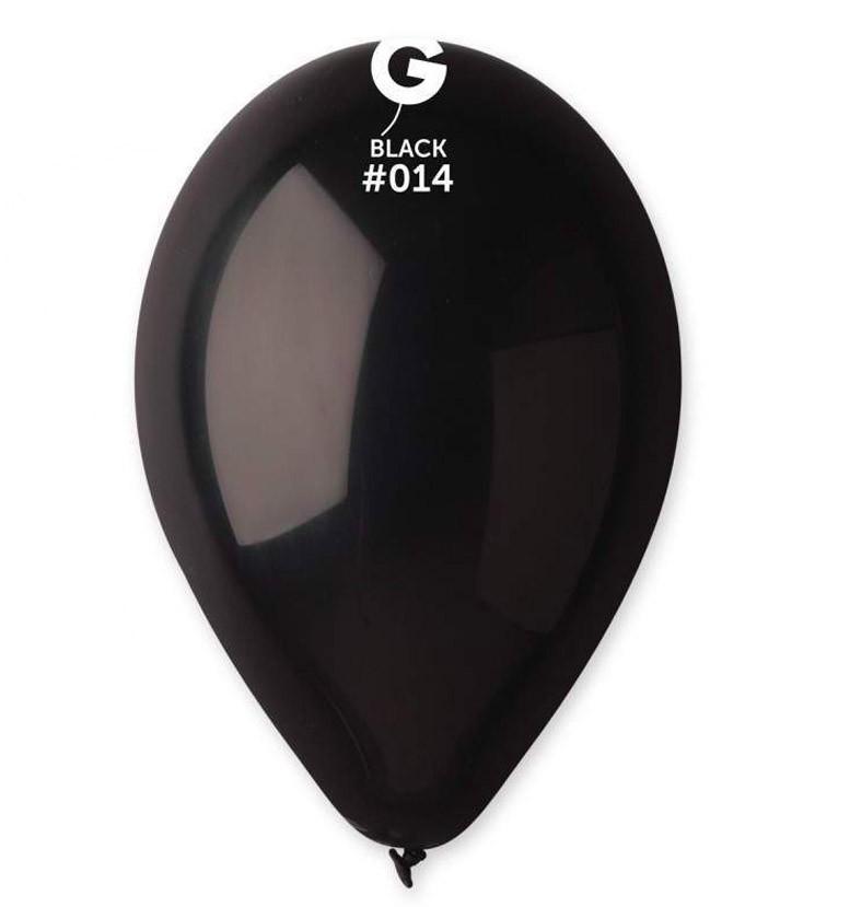 12″ Μαύρο λάτεξ μπαλόνι