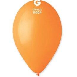 12″πορτοκαλί λάτεξ μπαλόνι