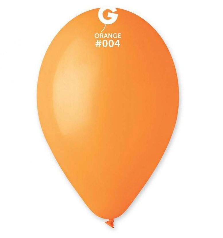 12″ Πορτοκαλί λάτεξ μπαλόνι