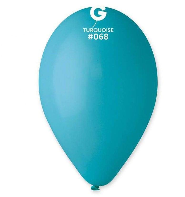 12″ τυρκουάζ λάτεξ μπαλόνι