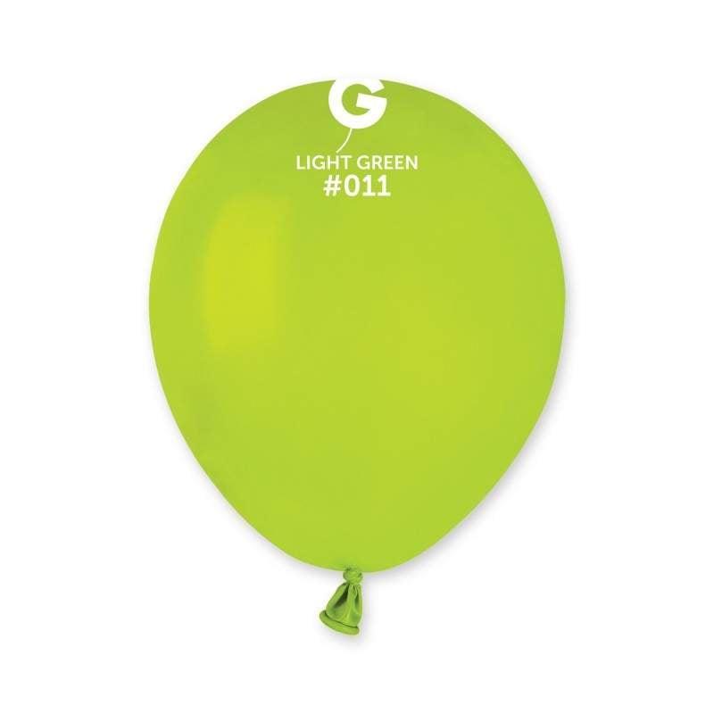 """5"""" Λαχανί λάτεξ μπαλόνι"""