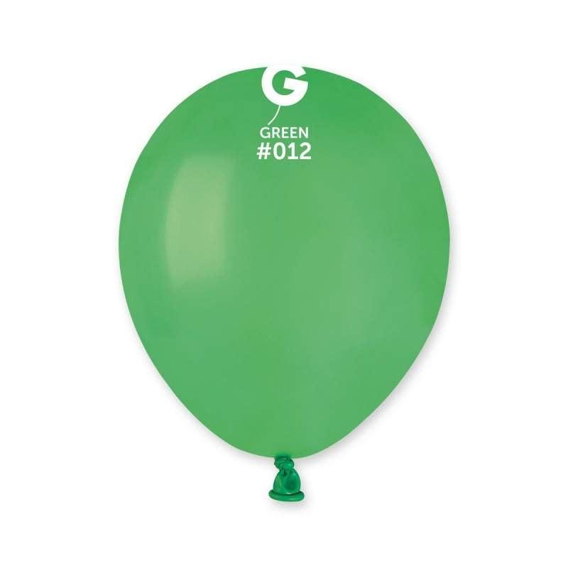 5″ Πράσινο λάτεξ μπαλόνι