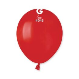 5″ Κόκκινο λάτεξ μπαλόνι