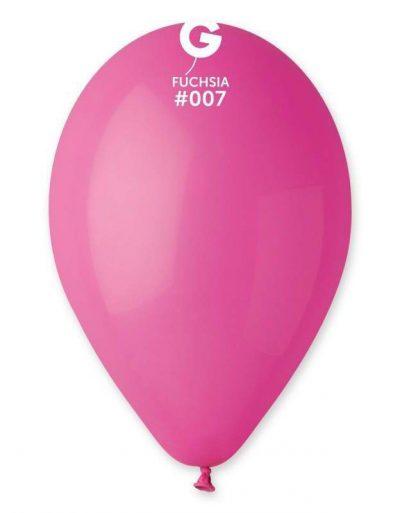 """12"""" Φούξια λάτεξ μπαλόνι"""