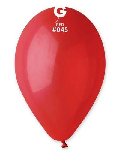 """12"""" Κόκκινο λάτεξ μπαλόνι"""
