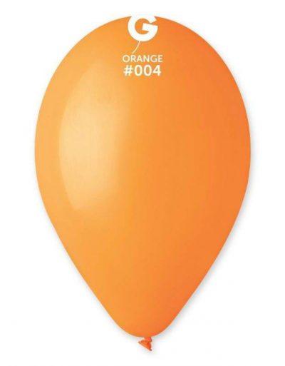 """12"""" Πορτοκαλί λάτεξ μπαλόνι"""