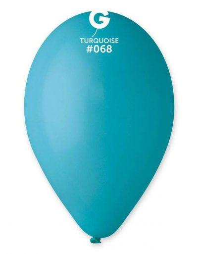 """12"""" Τυρκουάζ λάτεξ μπαλόνι"""