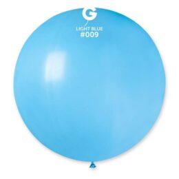 """31"""" Γαλάζιο μπαλόνι"""